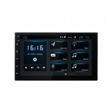 INCAR DTA-7707 (ANDROID UNIVERSAL) 2DIN BT,IPS,DSP, Android 9.0/1024*600,wi-fi