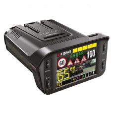 Антирадар и регистратор INSPECTOR BARRACUDA Full HD GPS