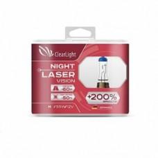 Лампа H7 (Clearlight) 12V-55W Night Laser Vision +200% Light (2 шт.)