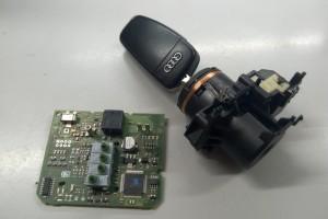 Установка сигнализации с автозапуском Pandora DXL3910 Pro на Audi A6