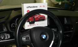 Установка gsm сигнализации Pandora DXL 3910 PRO на BMW X3 (F25)