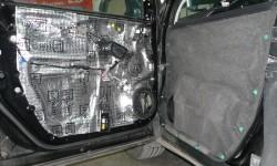 Шумоизоляция дверей Honda CR-V 2015 года