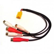 ISO GS-301 - 5 RCA ( mini ISOдля LADA)