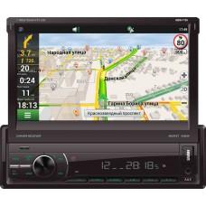 """SKYLOR MDN-7100 NAVI Multicolor 1 din 7.0""""TFT BT, GPS, USB, MP3, MKV, RCA, JPEG, Д/У"""