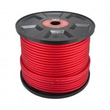 KICX PCC 8100RS силовой кабель 8Ga (Бухта 100м. красный)