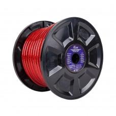 KICX PCC 430RS силовой кабель 4Ga (Бухта 30м. красный)