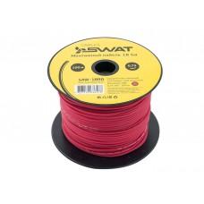 SWAT SAW-18RD /монтажный кабель 18Ga/0,75мм2 красный, ССА, 100м.