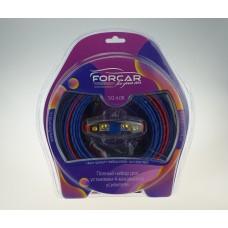 Установочный комплект проводов FORCAR SQ 4.08 для подключения 4х кан.усилителя 8 Ga