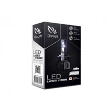 Светодиодные лампы Clearlight Laser Vision H7 4300lm 24W с обманкой (комп. 2шт.)