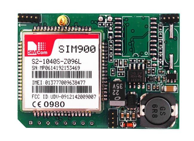 Вид сверху GPS модуля StarLine